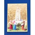 Golden Fatima Plaque