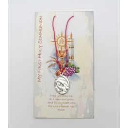 Pink First Communion Necklace