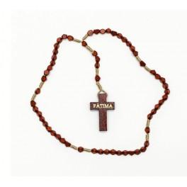 Wooden Fatima Rosary