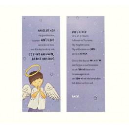 Blue Angel's Prayer Card