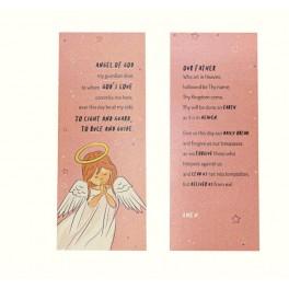 Pink Angel's Prayer Card