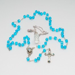 Fatima Rosary and Water Set