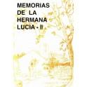 Memorias de la Hermana Lucia 2