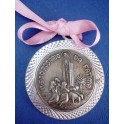 Girl's Crib Medallion