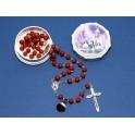 Original Fatima Rose Petal Rosary