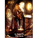 Poster St. Padre Pio