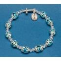 Rosary Pearl Bracelet
