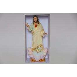 Handmade Statue Sacred Heart of Jesus