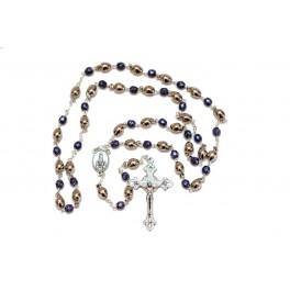 Fatima Olive Stone Rosary