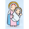 Magnet Our Lady with Child Jesus