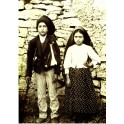 Poster Blessed Francisco and Jacinta Marto  Medium