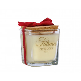 Aroma candle in glass cup