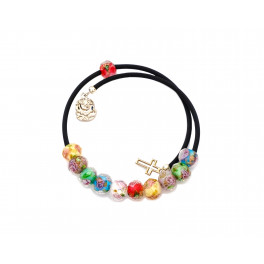 Coloured Crystal Bracelet