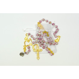 Fatima  Snowbeads Rosary