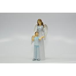 Guardian Angel with Boy