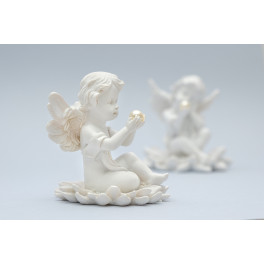 White Angel with Pearl